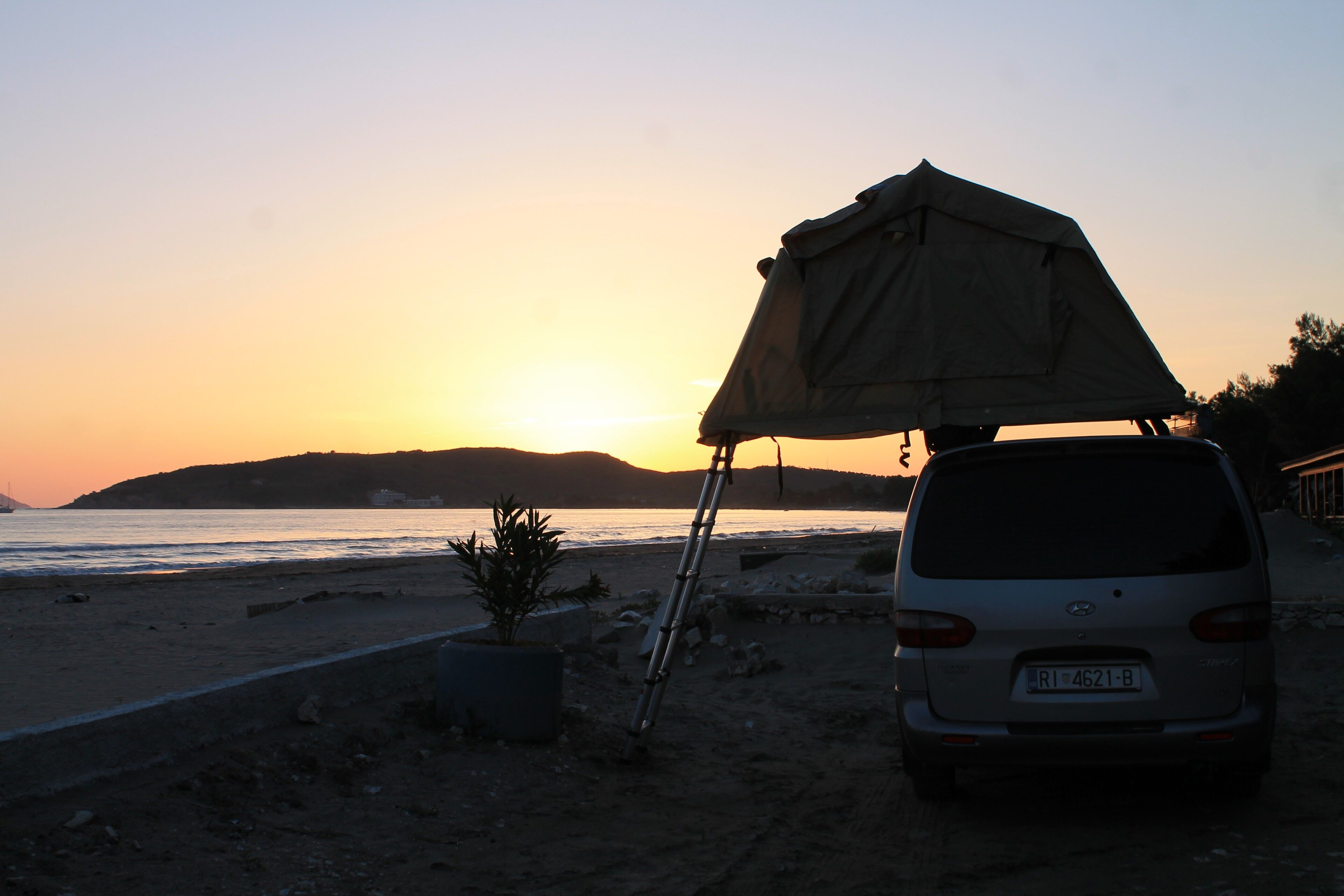 Wild camping in the Balkan countries